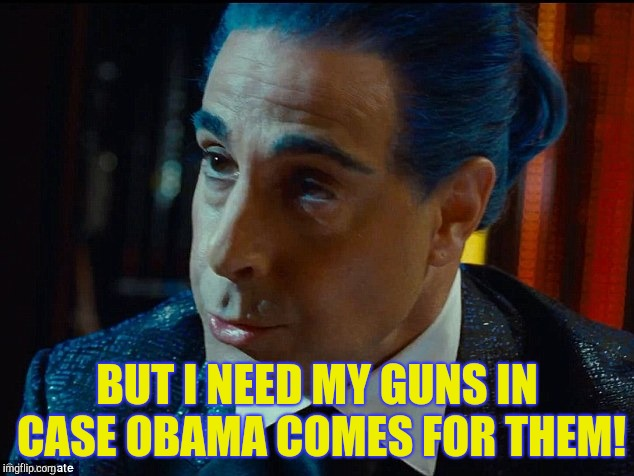 "Hunger Games - Caesar Flickerman/S Tucci) ""What are you saying h 