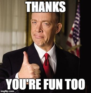 farmers | THANKS YOU'RE FUN TOO | image tagged in farmers | made w/ Imgflip meme maker