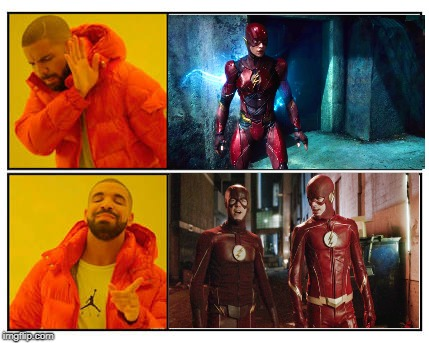 How Most Flash Fans Feel | image tagged in no - yes,the flash,cw,dceu | made w/ Imgflip meme maker