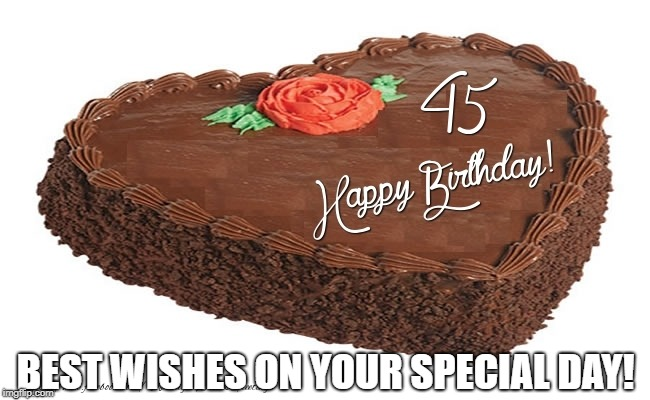 BEST WISHES ON YOUR SPECIAL DAY! | image tagged in birthday | made w/ Imgflip meme maker