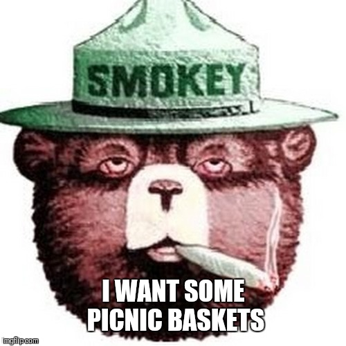 I WANT SOME PICNIC BASKETS | made w/ Imgflip meme maker