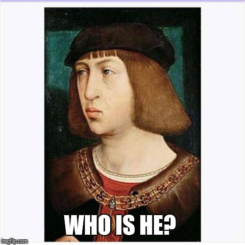 Who is he?  | WHO IS HE? | image tagged in curious,question | made w/ Imgflip meme maker