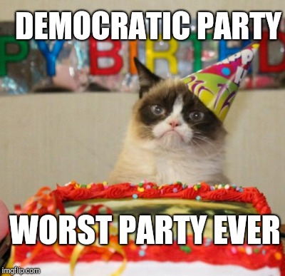 DEMOCRATIC PARTY WORST PARTY EVER | made w/ Imgflip meme maker
