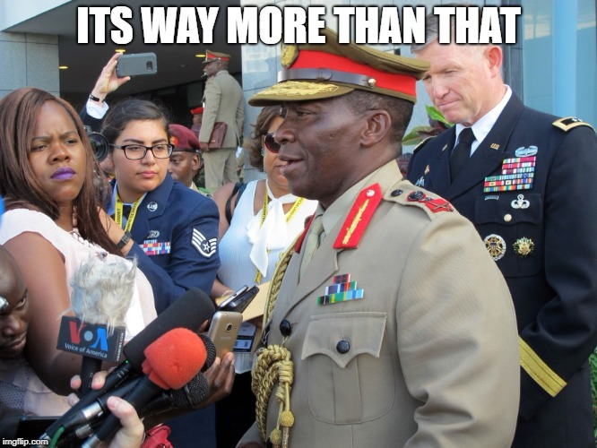 General Africa | ITS WAY MORE THAN THAT | image tagged in general africa | made w/ Imgflip meme maker