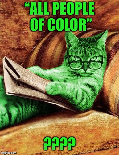 "Factual RayCat | ""ALL PEOPLE OF COLOR"" ???? 