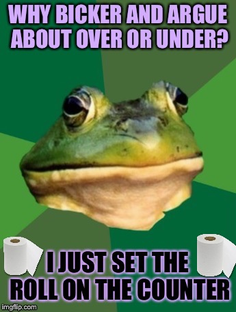 Bachelor Frog | image tagged in bachelor frog,toilet humor | made w/ Imgflip meme maker
