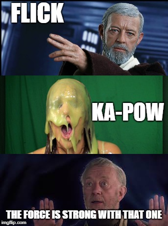 """Remember…the Force will be with you, always."" 
