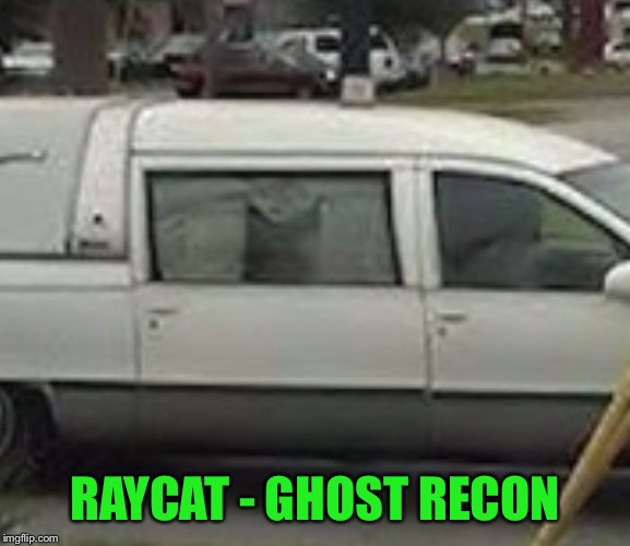 RAYCAT - GHOST RECON | made w/ Imgflip meme maker