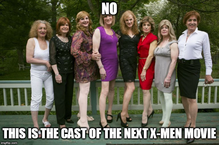 NO THIS IS THE CAST OF THE NEXT X-MEN MOVIE | made w/ Imgflip meme maker