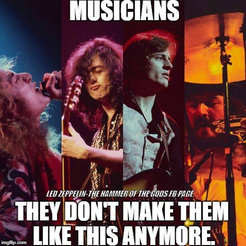 LED ZEPPELIN-THE HAMMER OF THE GODS FB PAGE | image tagged in led zeppelin,classic rock,rock and roll,hard rock,rock music | made w/ Imgflip meme maker