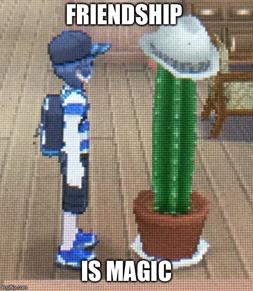 FRIENDSHIP IS MAGIC | image tagged in forever alone pokemon sun and moon | made w/ Imgflip meme maker