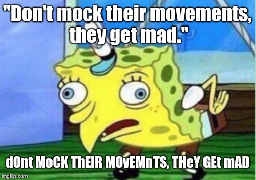"At the Zoo | ""Don't mock their movements, they get mad."" dOnt MoCK ThEiR MOvEMnTS, THeY GEt mAD 