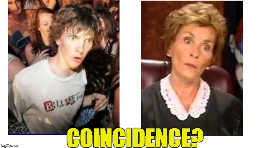 COINCIDENCE? | made w/ Imgflip meme maker