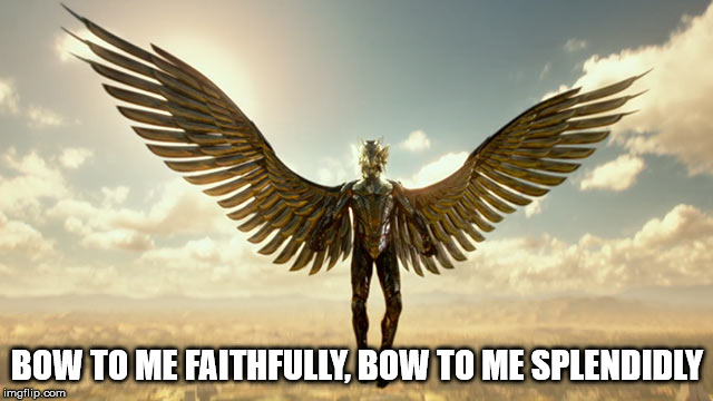 "The ""Golden"" Horus. 