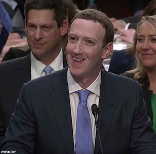 Zucc my ass  | image tagged in zucc confused smile | made w/ Imgflip meme maker