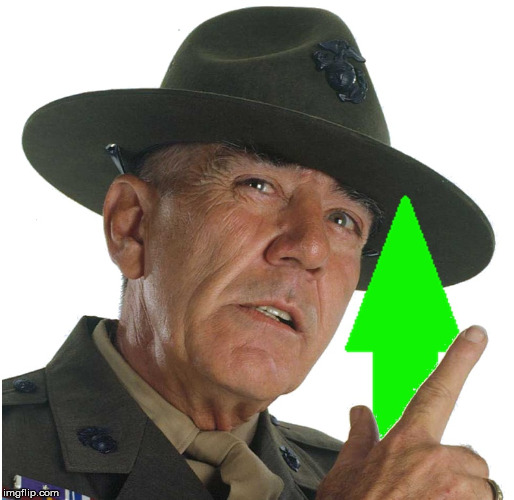 Gunnery Sergeant Hartman Approves |  . | image tagged in upvote from gysgt hartman,meme,marine corps,gunny,approves | made w/ Imgflip meme maker
