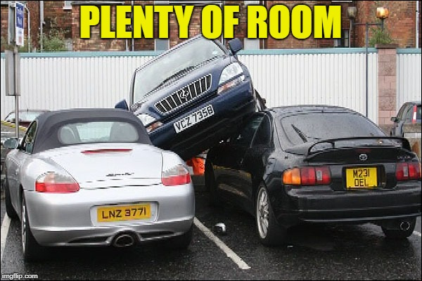 PLENTY OF ROOM | made w/ Imgflip meme maker