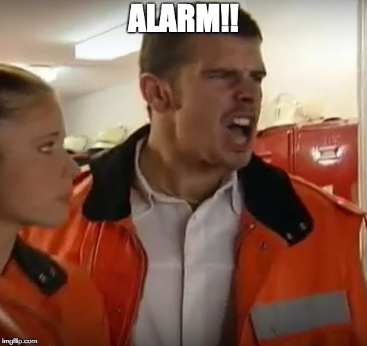 ALARM!! | image tagged in alarm,porn,porn dialog,german | made w/ Imgflip meme maker