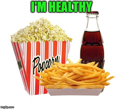 I'M HEALTHY | made w/ Imgflip meme maker