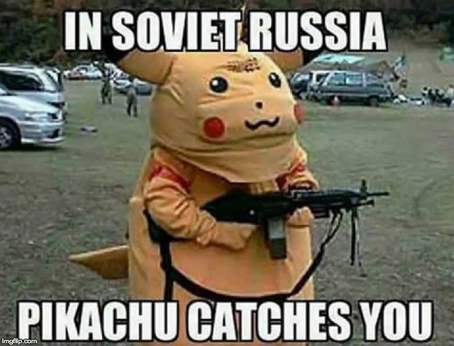 Yet another Russia Meme | image tagged in in soviet russia,funny | made w/ Imgflip meme maker