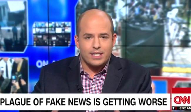 brian stelter douchebag fake news cnn blank template imgflip