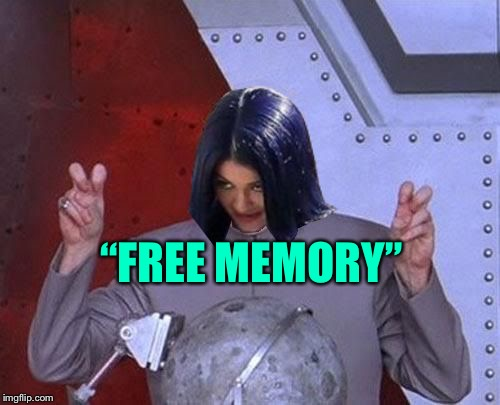 "Dr Evil Mima | ""FREE MEMORY"" 