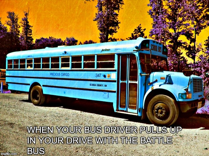 Battle Bus | image tagged in fortnite meme | made w/ Imgflip meme maker