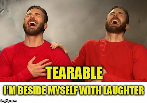 TEARABLE | made w/ Imgflip meme maker