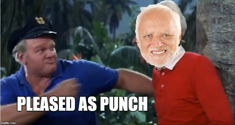 PLEASED AS PUNCH | made w/ Imgflip meme maker
