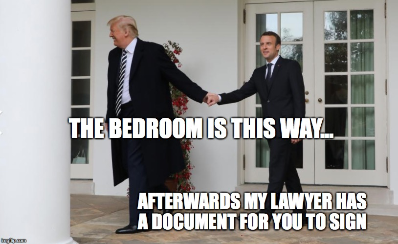 Trump's next victim | THE BEDROOM IS THIS WAY... AFTERWARDS MY LAWYER HAS A DOCUMENT FOR YOU TO SIGN | image tagged in donald trump approves | made w/ Imgflip meme maker