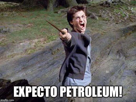 Harry Potter Yelling | EXPECTO PETROLEUM! | image tagged in harry potter yelling | made w/ Imgflip meme maker