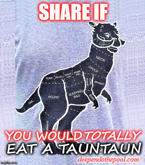 Eat a Tuantaun | SHARE IF YOU WOULD TOTALLY EAT A TAUNTAUN deependothepool.com | image tagged in foodie,foodie humor,tauntaun,star wars humor | made w/ Imgflip meme maker