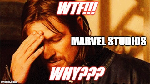 Major Upset!!! | WTF!!! WHY??? MARVEL STUDIOS | image tagged in avengers infinity war,the avengers,avengers | made w/ Imgflip meme maker