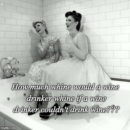 How much??? | How much whine would a wine drinker whine if a wine drinker couldn't drink wine??? | image tagged in wine,whine,drink,drinker | made w/ Imgflip meme maker