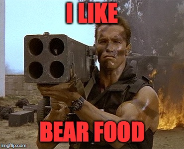 I LIKE BEAR FOOD | made w/ Imgflip meme maker