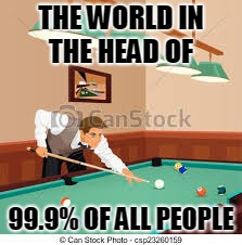 THE WORLD IN THE HEAD OF 99.9% OF ALL PEOPLE | made w/ Imgflip meme maker