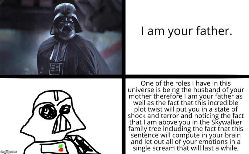 Darth Vader | image tagged in star wars,darth vader,wut | made w/ Imgflip meme maker