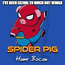 "A new template I made. I call it, ""Spider Pig"" 