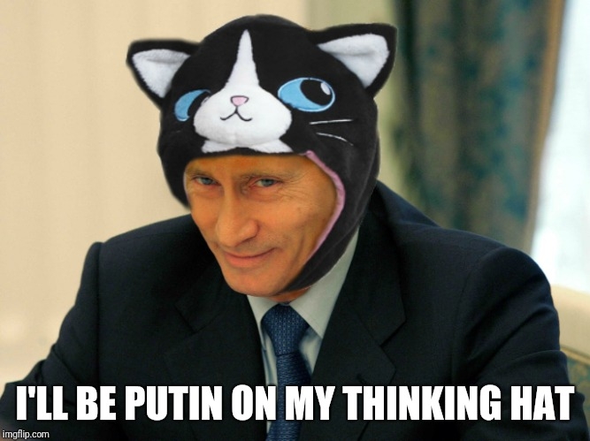 I'LL BE PUTIN ON MY THINKING HAT | made w/ Imgflip meme maker
