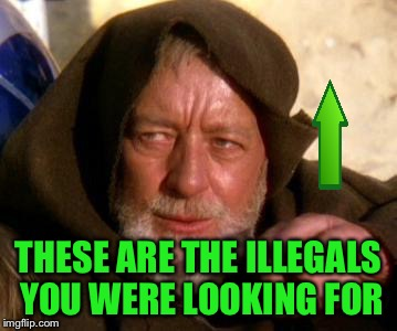 THESE ARE THE ILLEGALS YOU WERE LOOKING FOR | made w/ Imgflip meme maker