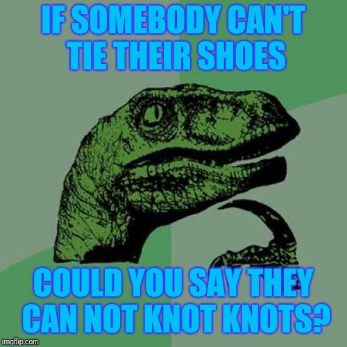 "That ""somebody"" would be me by the way. 