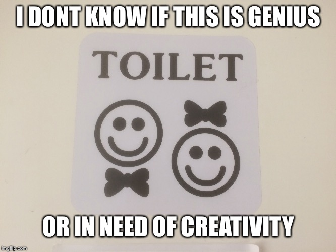 I DONT KNOW IF THIS IS GENIUS OR IN NEED OF CREATIVITY | image tagged in funny memes | made w/ Imgflip meme maker