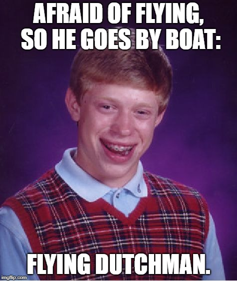 "Must've thought ""Flying"" was a metaphor of speed. 