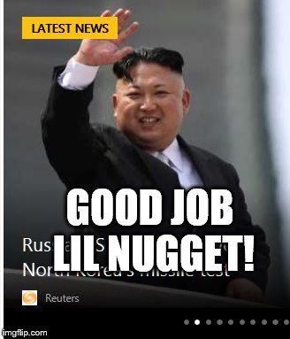 GOOD JOB LIL NUGGET! | made w/ Imgflip meme maker