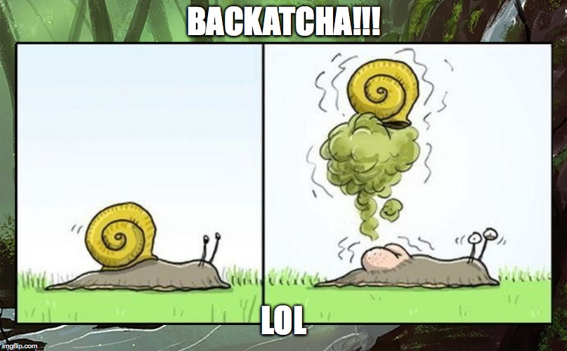 BACKATCHA!!! LOL | made w/ Imgflip meme maker