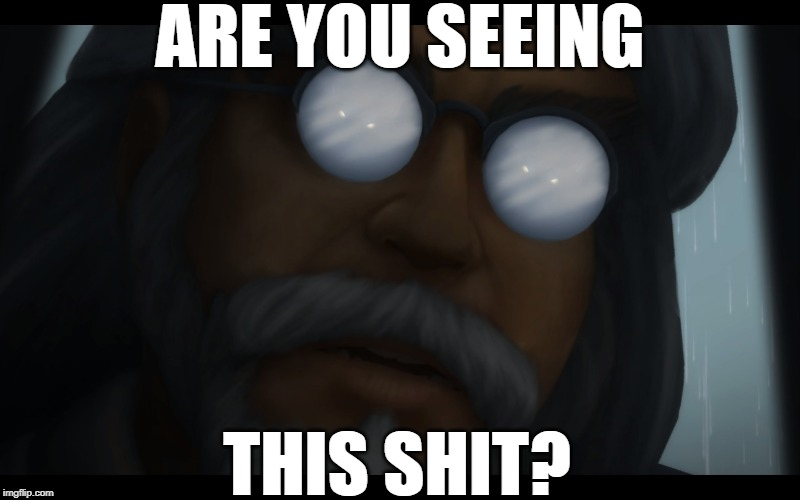 ARE YOU SEEING THIS SHIT? | image tagged in world of warcraft,reaction,shocked face | made w/ Imgflip meme maker