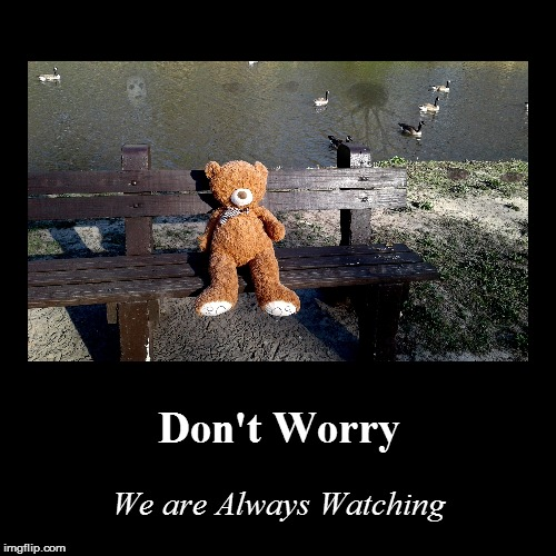 Don't Worry | We are Always Watching | image tagged in funny,demotivationals | made w/ Imgflip demotivational maker