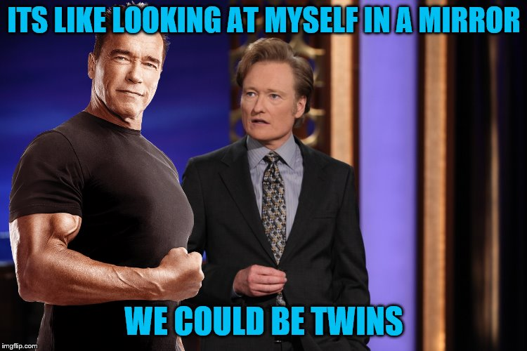 ITS LIKE LOOKING AT MYSELF IN A MIRROR WE COULD BE TWINS | made w/ Imgflip meme maker