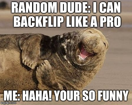 Haha Your Funny Meme : Haha your so funny walrus memes imgflip