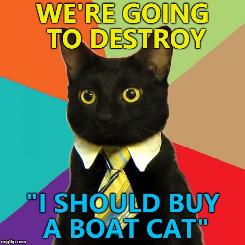 "Who knew they were rivals? :) | WE'RE GOING TO DESTROY ""I SHOULD BUY A BOAT CAT"" 